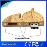 Qualitäts-Blatt-Form hölzerner USB-Speicher Pendrive