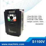 1 fase mecanismo impulsor variable de la velocidad de la frecuencia del motor de 3 fases, VFD para la bomba