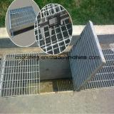 Reja de acero ampliada modificada para requisitos particulares del metal para el suelo y el dren