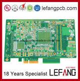Multi-Layer Raad van de Kring van PCB van de Vinger Enig+Gold voor de Module van de Impedantie