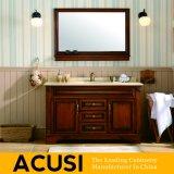 Vaidade simples americana do banheiro da madeira contínua do estilo da alta qualidade (ACS1-W36)