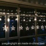 Yuegang에서 2017년 Ce&RoHS 승인되는 좋은 품질 LED 색깔 변화 커튼 가벼운 도매 별 커튼 빛