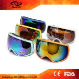 2017 lunettes de ski estampées par Googles de motocross de neige d'Anti-Vent les plus neuves folâtrant la lunetterie