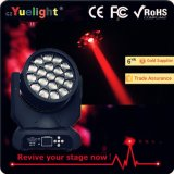工場セリウムRoHSとの直接販売法19PCSの蜂の目LEDの移動ヘッド軽い価格