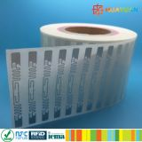 外国人H3 ALN-9630 Squiglette RFIDの象眼細工のラベルの札