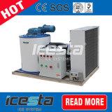 Maquinaria comercial nova do floco do gelo do projeto 3000kgs de Icesta