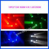 Indicatore luminoso capo mobile dello zoom 19PCS*12W del LED
