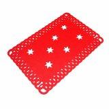 3mm u. 5mm förderndes Polyester Placemat für Tischplatte-und Weihnachtsdekorationen