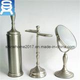 Комплект 3 вспомогательного оборудования ванны для держателя щетки, зеркала тщеты и рельса полотенца