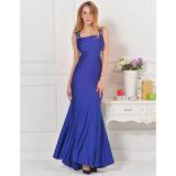 Elegantes neues Spitze-Rückseiten-Qualitäts-Abend-Kleid
