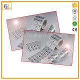 Etiqueta engomada de encargo de la fábrica de la impresión de la etiqueta engomada hecha en China