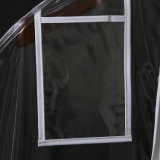 PVC plástico transparente vestido de almacenamiento de prueba de polvo bolsa de la cubierta