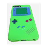 Funda de silicona iPhone 7 Game Boy 3D personalizada caja de la jalea Universial