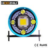 Hoozhu Hv63 2in1 5 색깔 가벼운 두 배 스위치 잠수 사진 Light+Diving 가벼운 Max1 의 잠수를 위한 2000lm Watrproof 100-200m LED 플래쉬 등