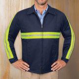 Il tecnico dell'OEM ha aumentato gli indumenti da lavoro riflettenti del cotone di alta visibilità