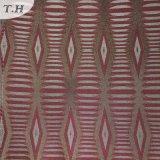 Tessuto geometrico della presidenza del reticolo del jacquard giallo (FTH31959)