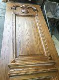 Puerta de madera doble de madera sólida de la entrada delantera para el chalet (GSP1-030)