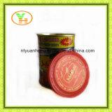 Pasta de tomate e puré enlatados assépticos do tomate