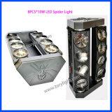 La luz de la lámpara LED de la araña 8PCS * 10W RGBW