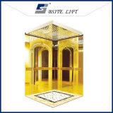 Lit residenziale dell'acciaio inossidabile dell'elevatore dorato di titanio del passeggero