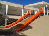 Hilllの上の長いスライド