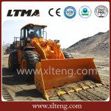 Carregador de Ltma preço do carregador da roda de 5 toneladas com vários acessórios