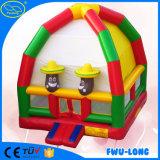 Bouncer poco costoso divertente e pazzesco del bambino di carnevale
