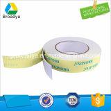 Espuma blanca del PE de revestimiento doble o pegamento gris del espuma o negro de la espuma de la cinta