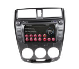 GPS Navigator com DVD TV iPod 3G RDS Bt Radio para 2009-2013 Honda City