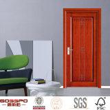 Puerta de madera interior del MDF del estándar de diseño simple (GSP8-027)