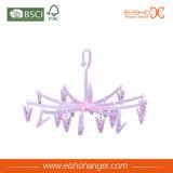 Eisho vertakt zich Roze Plastic Hanger met MultiKlemmen
