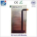 """5 """" модуль 5inch индикации TFT LCD с сопротивляющей панелью экрана касания"""