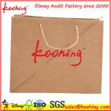 Sacco di carta personalizzato di acquisto variopinto con la stringa di torsione