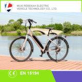 bicicleta eléctrica de la aleación del Al de la batería de litio 36V/10.4ah 250W