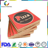 Boîte chaude à pizza de qualité de vente pour l'empaquetage de pizza