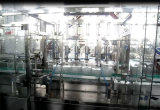 5liters 병을%s 선형 유형 물 세척 채우는 캡핑 기계