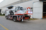 Reicher exportierenerfahrungs-chinesischer LKW gegliederter Hochkonjunktur-Kran 10 Tonne