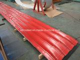Prepainted GIの鋼鉄コイル/PPGI/PPGLのカラーによって塗られる電流を通された鋼板