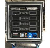 移動式段階PAのオーディオ・システムの党または会議または入り口ショーはスピーカーのキャビネットを空ける