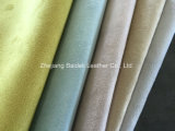 Suede Backing with PVC Leather Aceite Customized