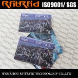 bilhete Printable programável/cartão de 13.56MHz RFID para o transporte público