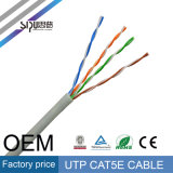 Cable de LAN de cobre del cable Cat5 de la red de Sipu UTP Cat5e
