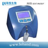 Analyseur portatif de matière grasse du lait de prix usine de bonne qualité