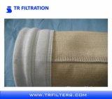 Feltro non tessuto PPS dell'ago/sacchetti filtro polvere di Nomex