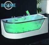 Gemakkelijk om de Eenvoudige Freestanding Badkuip van de Oppervlakte van de Stijl schoon te maken Acryl