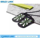 Tag de chien en métal Nom de l'armée Tag Necklace Promotion Gift