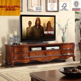 Fancy Design Teak Wood TV Stand / TV Cabinet (GSP13-007)