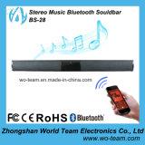 Música estérea Bluetooth Soundbar sin hilos/mini altavoz