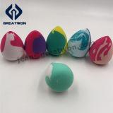 組合せカラー構成の海綿状粉のパフの乳液自由な二重カラー美の混合機のスポンジ