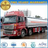 Foton 8X4 연료 탱크 30 톤 연료 유조 트럭 4 차축